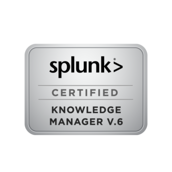 Splunk Certified Knowledge Manager